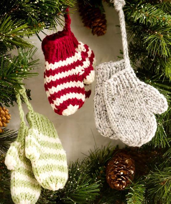 Вязаные подарки на новый год своими руками